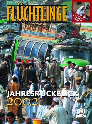 """Heft 4/2002: """"Jahresrückblick"""" - unhcr"""