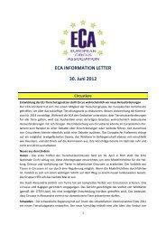 Deutsch Version - European Circus Association