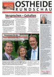 Ostheide Rundschau Ausgabe 37. Jahrgang - SPD-Ortsverein ...