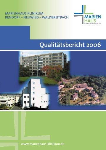 2006 - Marienhaus Klinikum Bendorf