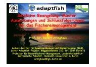 Selektive Beangelung - Adaptfish.rem.sfu.ca