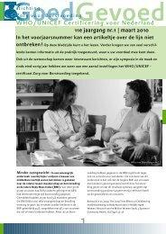 Goed Gevoed maart 2010 - Stichting Zorg voor Borstvoeding