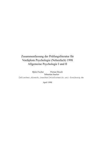 Methoden Der Psychologie Multiple Regression Zusammenfassung