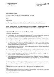 5. Wahlperiode Drucksache 5/2970 23.06.2011 Nicht ausgeschöpfte ...
