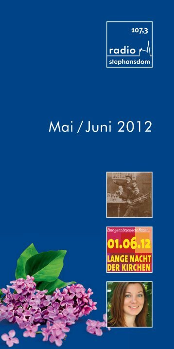 Mai / Juni 2012 - Radio Stephansdom