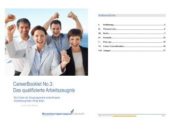 Das qualifizierte Arbeitszeugnis - Check24Personalberatung