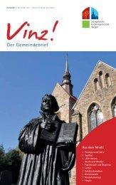 Vinz! Ausgabe 7 - Evangelische Kirchengemeinde Harpen