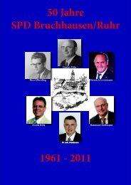 Broschüre zum Jubiläum - SPD Bruchhausen