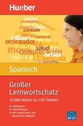 Leseprobe zum Titel: Großer Lernwortschatz Spanisch - Die Onleihe