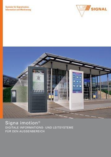 Signa imotion® - Signal AG
