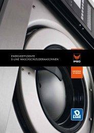 energieeffiziente d-line waschschleudermaschinen - IPSO