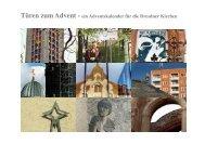 Türen zum Advent - ein Adventskalender für die Dresdner Kirchen