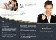 Unternehmenspräsentation - Deutsche Unternehmensberatung AG
