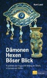 Dämonen, Hexen und der Böse Blick - AT Verlag