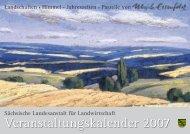 Veranstaltungskalender 2007 - Sächsisches Staatsministerium für ...