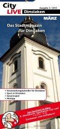 Das Stadtmagazin für Dinslaken - City-live.info