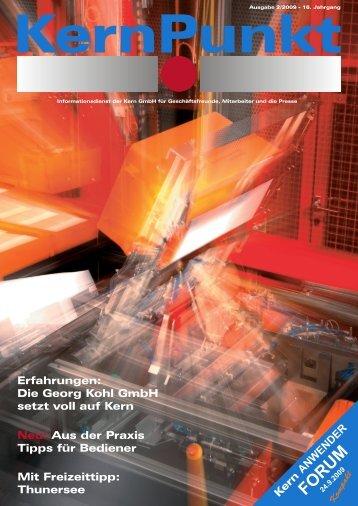 KernPunkt 02-2009.pdf - bei Kern GmbH
