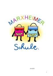 Aktuelle Schulbroschüre - Marxheimer Schule