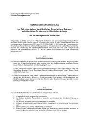 Gefahrenabwehrverordnung - Verbandsgemeinde Nieder-Olm