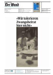 Der Bund, 04.05.10 - Daniel Steiner-Brütsch