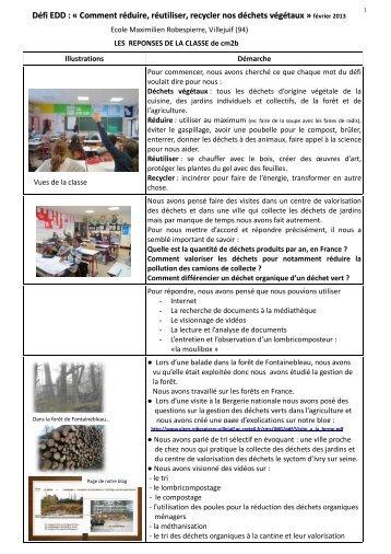 Télécharger la réponse de l'école Maximilien Robespierre à Villejuif