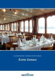 Extra Genuss - Schiffsmiete, Vierwaldstättersee