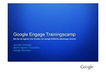 Google Wie sie als Agentur Ihre Kunden von Google ... - SEM-Kiel