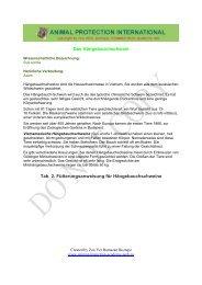 Das Hängebauchschwein Tab. 2. Fütterungsanweisung für ...