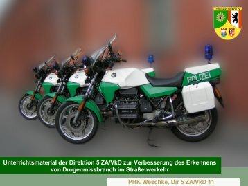 Präsentation der Polizei vom Berliner Peer-Seminar downloaden