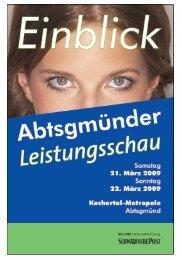 Abtsgmuender Leistungsschau - Schwäbische Post