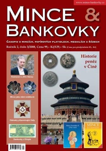 Historie peněz v Číně - Mince a Bankovky