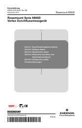Deutsch (German) - Emerson Process Management