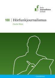 Leseprobe 108 - Freie Journalistenschule
