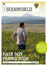 Pdf der SOJAWORLD-Ausgabe Sommer/Herbst 2012 ... - Soja Austria