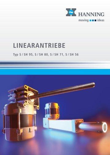 Prospekt Linearantriebe - Hanning Elektro-Werke GmbH & Co. KG