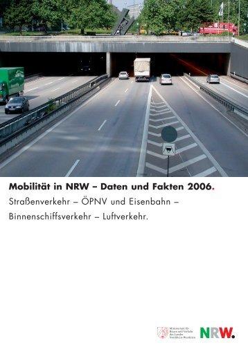 Mobilität in NRW - Nordrhein-Westfalen direkt