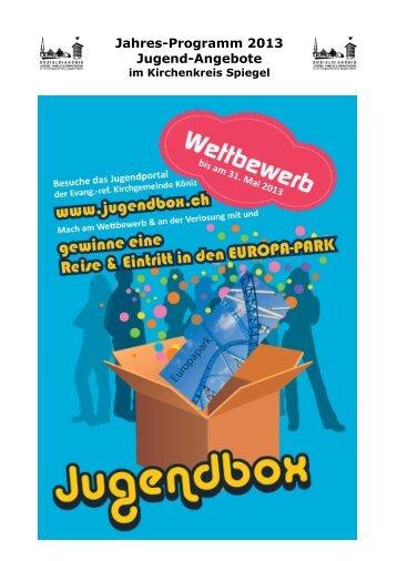 Jahresprogramm zum Download - Kirchenkreis Spiegel