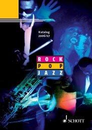 R O C K P O P J A Z Z - Schott Music
