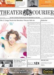 Editorial Die 2. Lange Nacht der Dresdner Theater ... - theatercourier