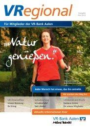 Ausgabe 7 - VR-Bank Aalen eG