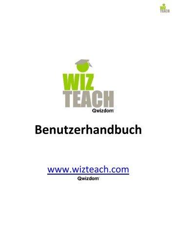 Handbuch WizTeach - Medium