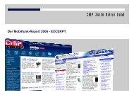Der Mobilfunk-Report 2006 - EXCERPT
