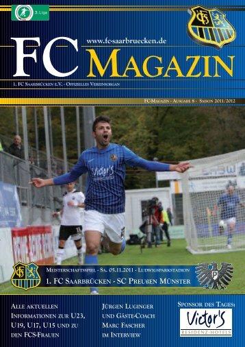fcs-fanecke - 1. FC Saarbrücken