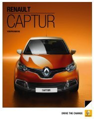 drive the change - Renault Captur
