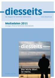 Mediadaten 2011 - diesseits