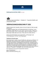 Verpackungsvorschriften der IATA Dangerous ... - Virologie Wien