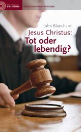 Jesus Christus: Tot oder lebendig? - Armour of Light