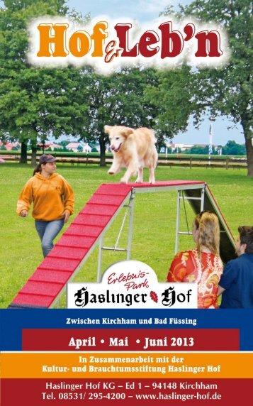 HofErlebn_April_bis_Juni_2013.pdf - Haslinger Hof