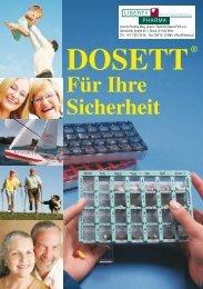 Dosett ® -Broschüre - Liberty Pharma Schulungszentrum