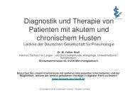 Diagnostik und Therapie von Patienten mit akutem und chronischem ...